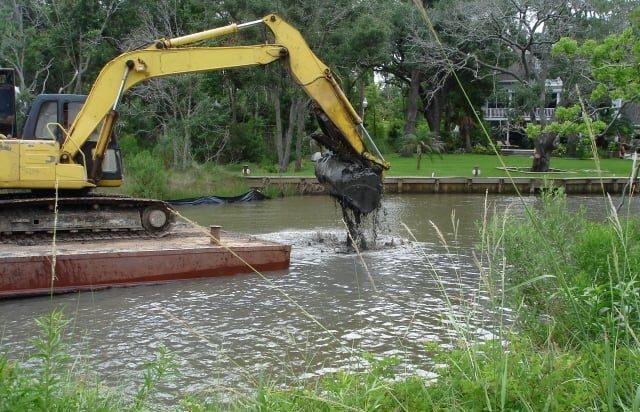 Moreton Bayou Dredging