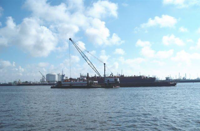 Signal International Dry Dock Basin Dredge