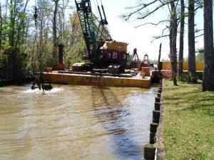 Four Mile Creek Dredging